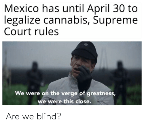 blind: Are we blind?