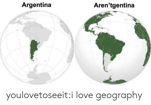 Love, Target, and Tumblr: Argentina  Aren'tgentina youlovetoseeit:i love geography