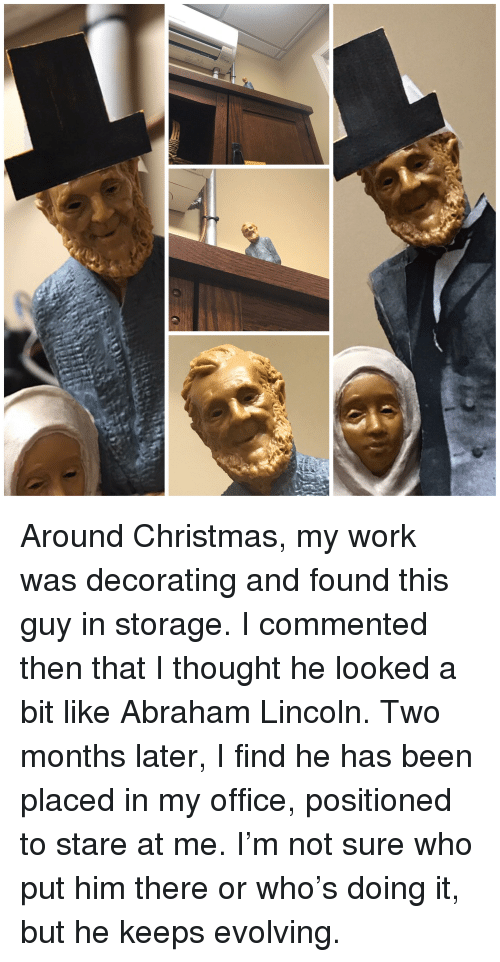 Abraham Lincoln, Christmas, and Funny