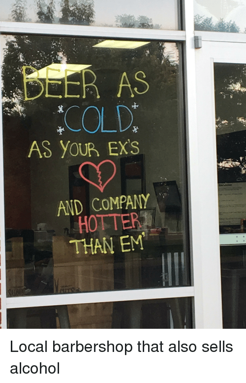 Barbershop, Ex's, and Funny: AS YOUR EXS  AND COMPANY  HOTTERT  THAN EM