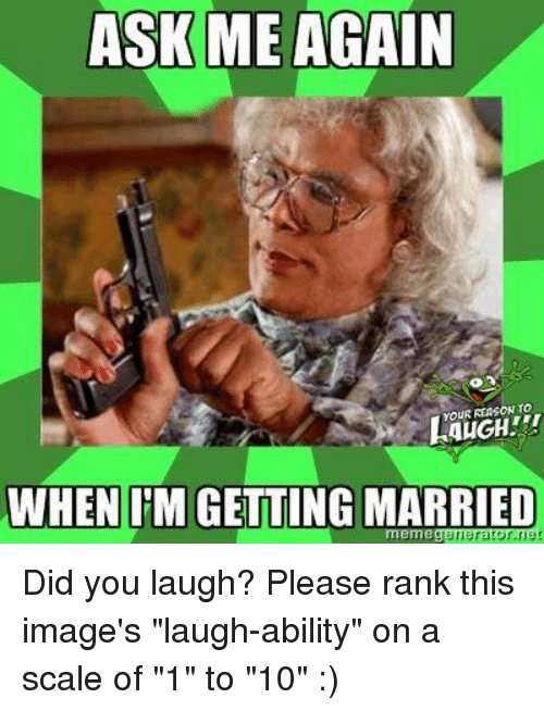 Getting Married Memes