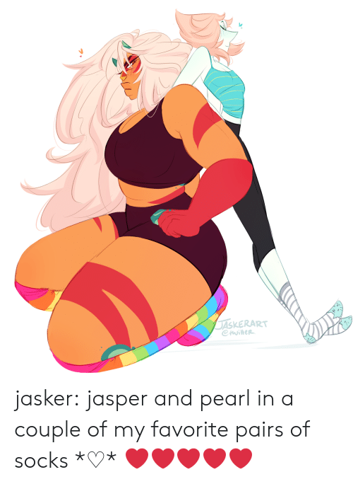Pairs: ASKERART jasker:  jasper and pearl in a couple of my favorite pairs of socks *♡*  ❤️❤️❤️❤️❤️