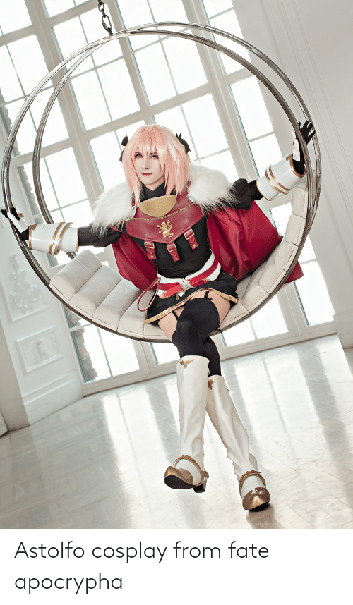 Fate Apocrypha: Astolfo cosplay from fate apocrypha