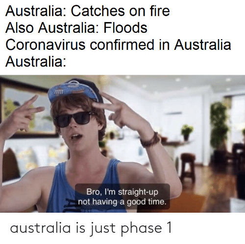 Is Just: australia is just phase 1
