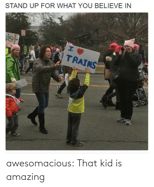 Is Amazing: awesomacious:  That kid is amazing
