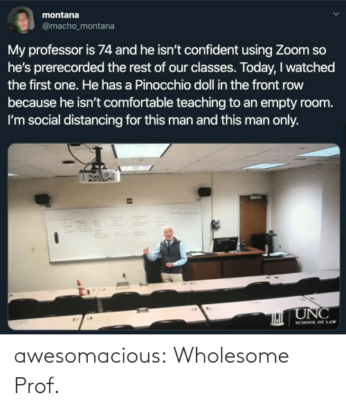 class: awesomacious:  Wholesome Prof.