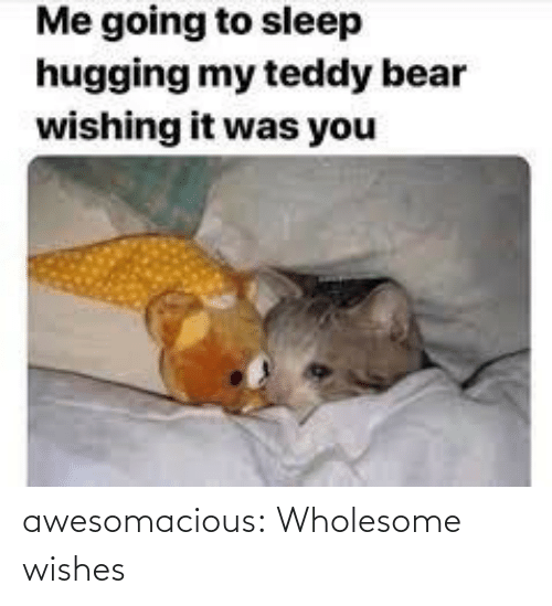Wishes: awesomacious:  Wholesome wishes