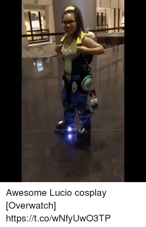 Cosplay, Awesome, and Overwatch: Awesome Lucio cosplay [Overwatch] https://t.co/wNfyUwO3TP