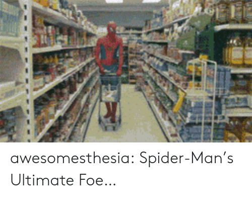 Spider, SpiderMan, and Tumblr: awesomesthesia:  Spider-Man's Ultimate Foe…