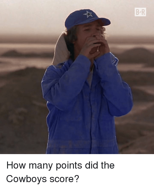 Dallas Cowboys, How, and Score: B-R How many points did the Cowboys score?