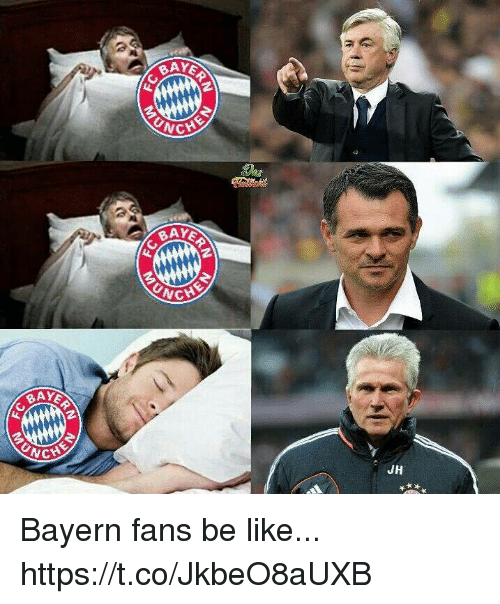 Be Like, Memes, and Bayern: BA  UNC  CHE  UNC  CHE  UNC  JH Bayern fans be like... https://t.co/JkbeO8aUXB