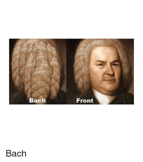bach: Bach  Front Bach