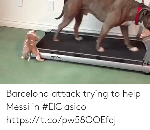 attack: Barcelona attack trying to help Messi in #ElClasico   https://t.co/pw58OOEfcj