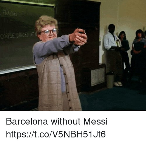 Barcelona, Memes, and Messi: Barcelona without Messi  https://t.co/V5NBH51Jt6
