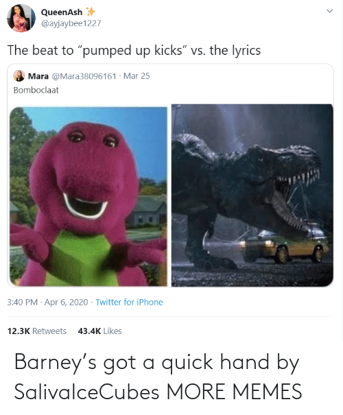 Barney: Barney's got a quick hand by SalivaIceCubes MORE MEMES