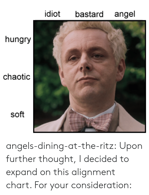 Hungry, Target, and Tumblr: bastard angel  idiot  hungry  chaotic  soft angels-dining-at-the-ritz:  Upon further thought, I decided to expand on this alignment chart. For your consideration: