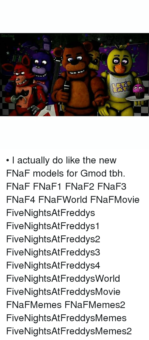 BATS! • I Actually Do Like the New FNaF Models for Gmod Tbh FNaF