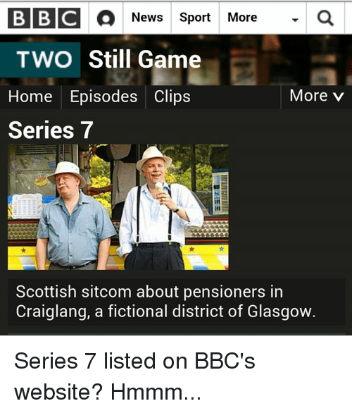 Still game clips