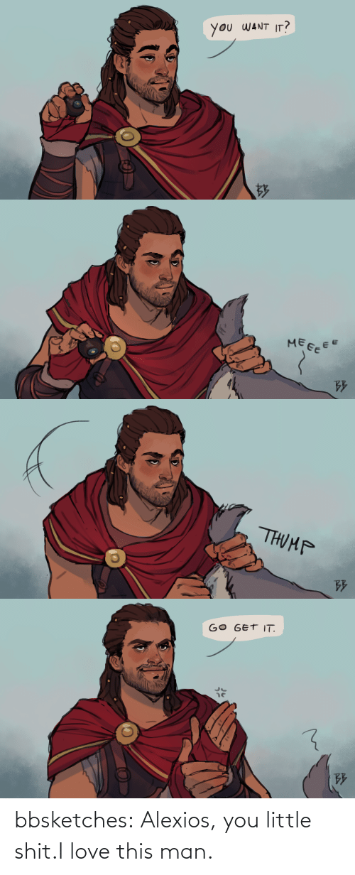 I Love This: bbsketches:  Alexios, you little shit.I love this man.