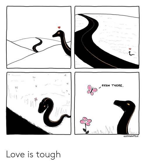 Love, Tough, and Been: BEEN THERE.  NATHANWPYLE Love is tough