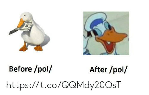 pol: Before /pol/  After /pol/ https://t.co/QQMdy20OsT