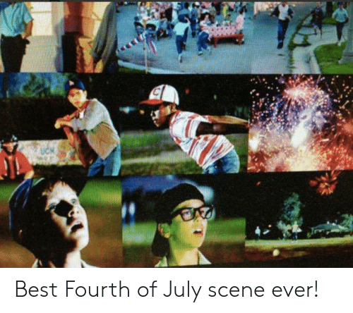 Mlb, Best, and July: Best Fourth of July scene ever!