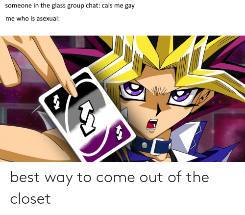 Come Out Of The Closet: best way to come out of the closet
