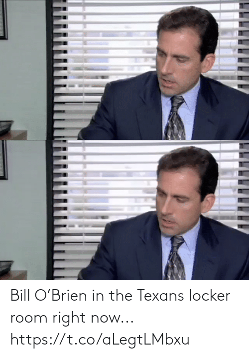 Texans: Bill O'Brien in the Texans locker room right now... https://t.co/aLegtLMbxu