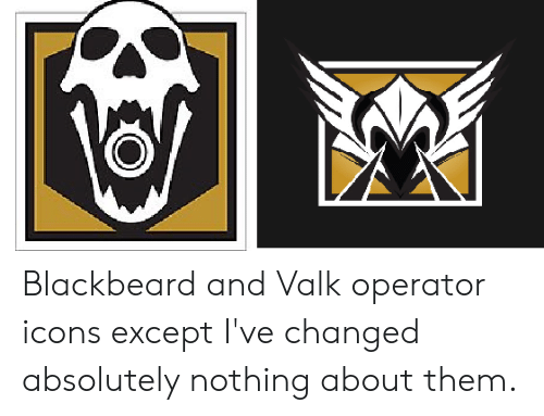 Blackbeard and Valk Operator Icons Except I've Changed