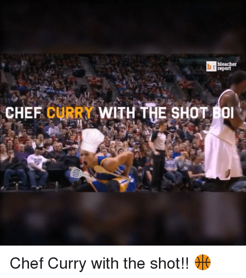 Chef Curry: bleacher  CHEF  CURRY WITH THE SHOT BOI Chef Curry with the shot!! 🏀