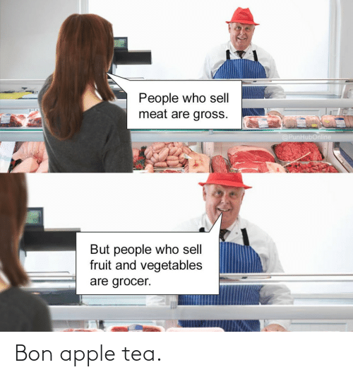 Apple: Bon apple tea.