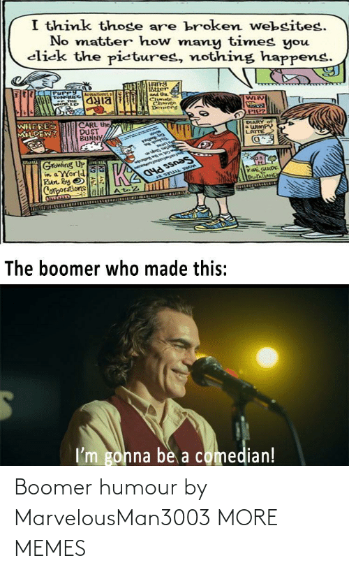 humour: Boomer humour by MarvelousMan3003 MORE MEMES