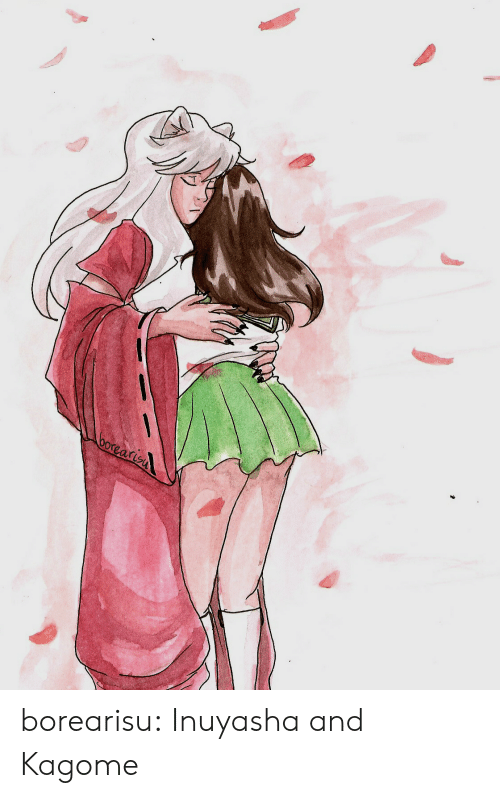 Target, Tumblr, and Blog: borearisn borearisu:  Inuyasha and Kagome