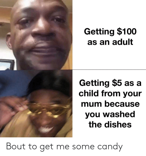 Candy: Bout to get me some candy