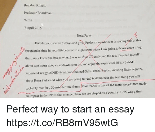 the way i am essay How to write an essay throughout your academic career, you will often be asked to write essays  i really like the way they wrote this, and i am glad that they .