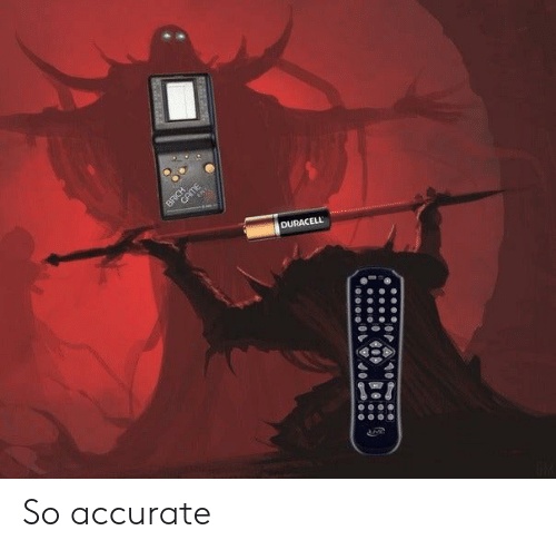 Duracell, Accurate, and So-Accurate: BRCHE  DURACELL So accurate