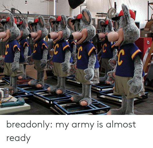 Target, Tumblr, and Army: breadonly: my army is almost ready