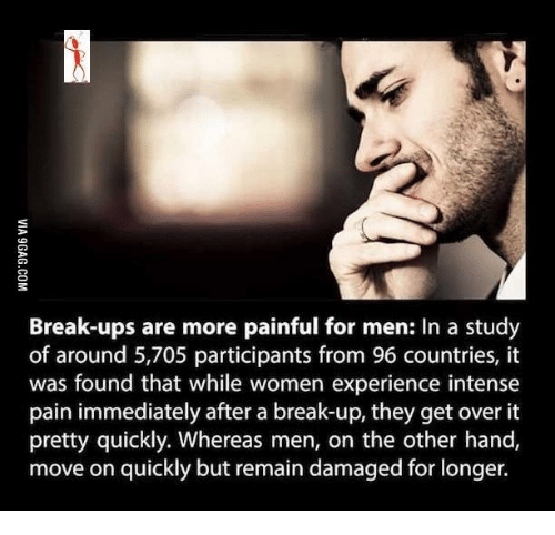 How men break up