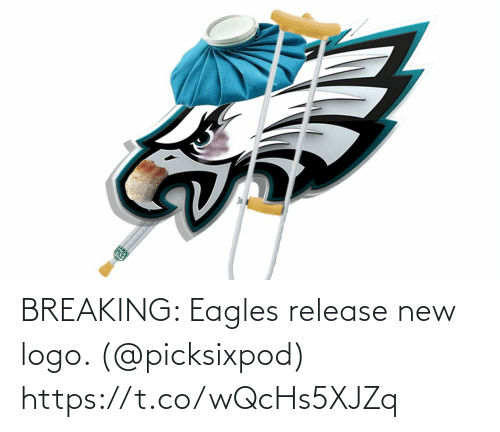 logo: BREAKING: Eagles release new logo. (@picksixpod) https://t.co/wQcHs5XJZq