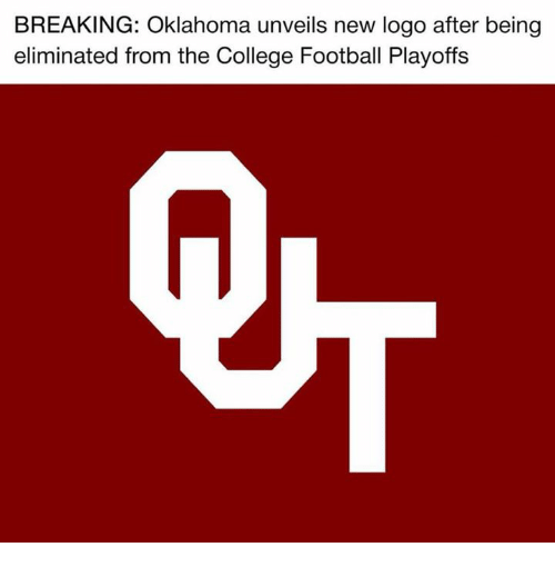 College football: BREAKING: Oklahoma unveils new logo after being  eliminated from the College Football Playoffs