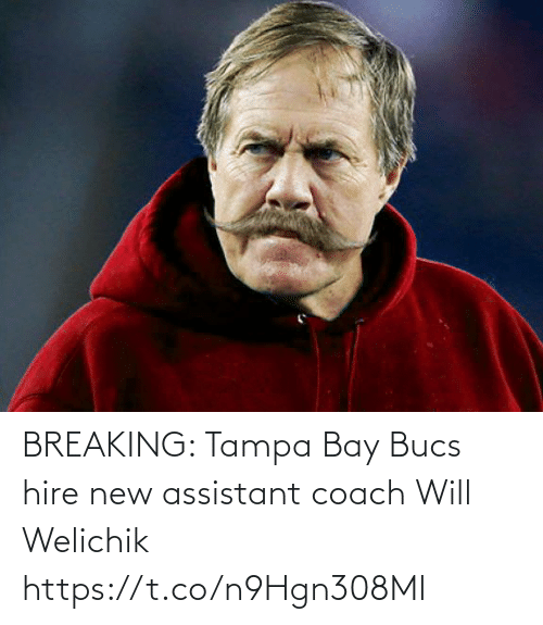 breaking: BREAKING: Tampa Bay Bucs hire new assistant coach Will Welichik https://t.co/n9Hgn308Ml