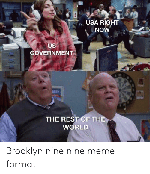 format: Brooklyn nine nine meme format
