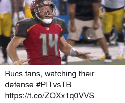 Sports, Their, and  Fans: Bucs fans, watching their defense #PITvsTB https://t.co/ZOXx1q0VVS