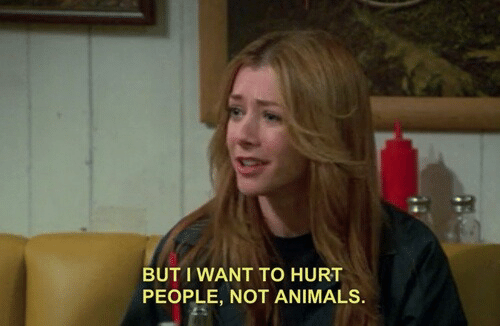 But I Want To: BUT I WANT TO HURT  PEOPLE, NOT ANIMALS