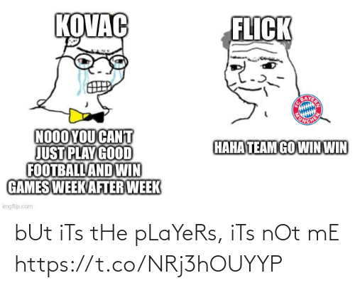 Its Not: bUt iTs tHe pLaYeRs, iTs nOt mE https://t.co/NRj3hOUYYP