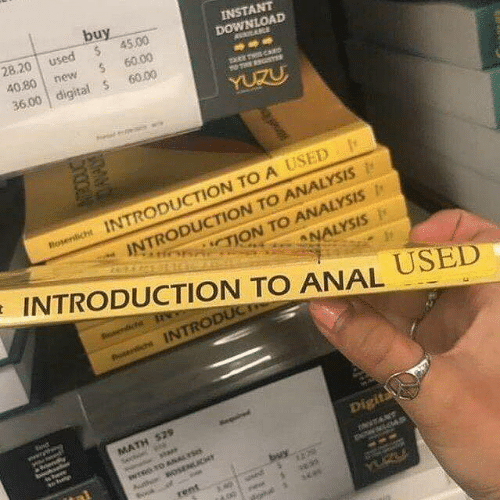 Anal, Math, and Rent: buy  28.20  used  $  INSTANT  DOWNLOAD  45.00  40.80  new  60.00  36.00 digital S  60.00  YUZU  Roserich INTRODUCTION TO A USED  INTRODUCTION TO ANALYSIS  TION TO ANALYSIS  INTRODUCTION TO ANAL  ANALYSIS  USED  oserichs INTRODUCT  www  end  MATH $29  sta  Digita  INTRO OANAL S  thin  OSENLICY  buy  rent