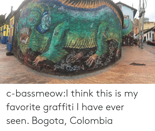 bogota: c-bassmeow:I think this is my favorite graffiti I have ever seen. Bogota, Colombia