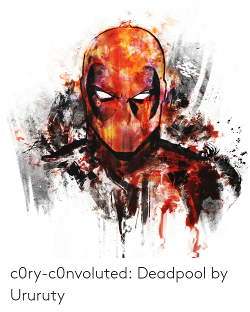 Deadpool: c0ry-c0nvoluted:    Deadpool by Ururuty