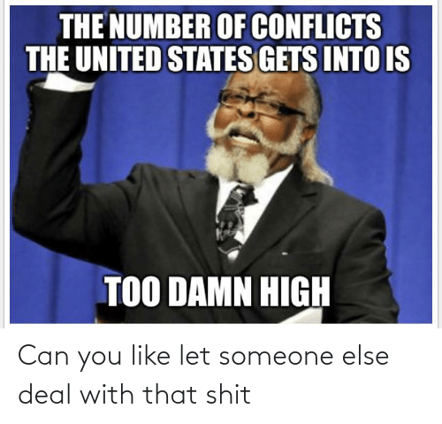 You Like: Can you like let someone else deal with that shit