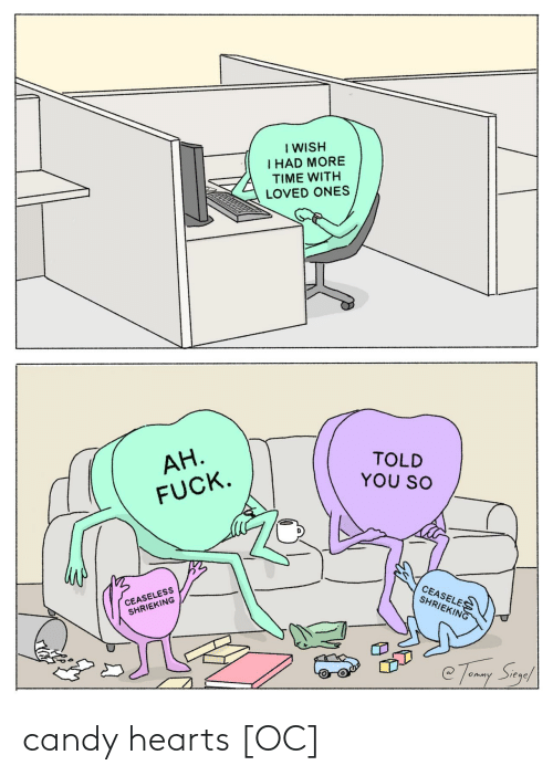 Candy: candy hearts [OC]